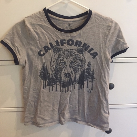 Volcom Other - California bear t-shirt